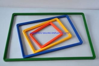China Custom ABS POS Plastic Snap Frame Exhibition A3 A4 A5 in Clear Green Black supplier