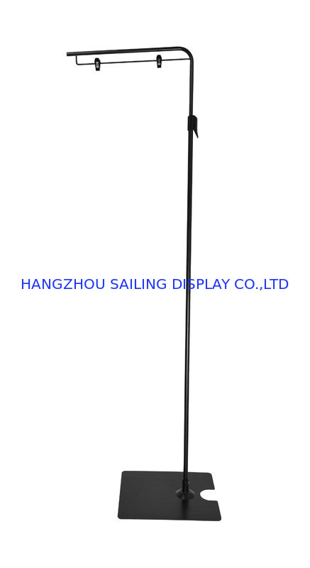 Advertising Floor Standing Sign Holders M380mm With Two Wire Clips ...