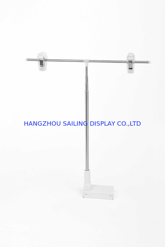 Metal Pop Magnetic Sign Holders 200mm Pole with Two Wire Clips For Poster supplier