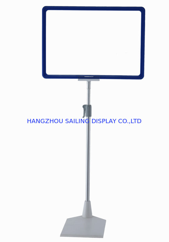 Metal Floor Poster Stands with A3 A4 A5 Price Display Frame supplier