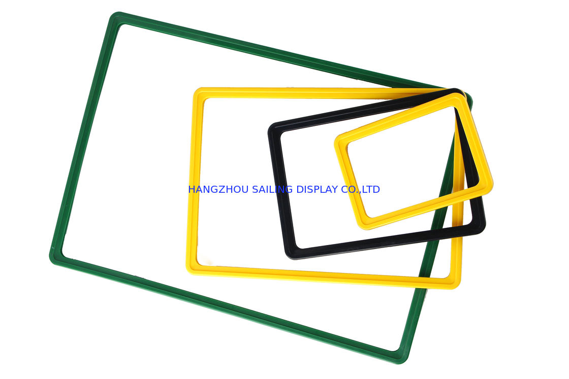 poster size plastic snap frames a1 a6 advertising plastic poster frames