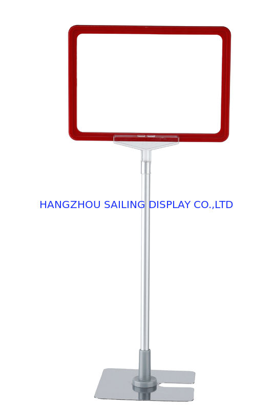 Metal Base A3 A4 A5 Display Frames Customized Plastic Pop Frame In