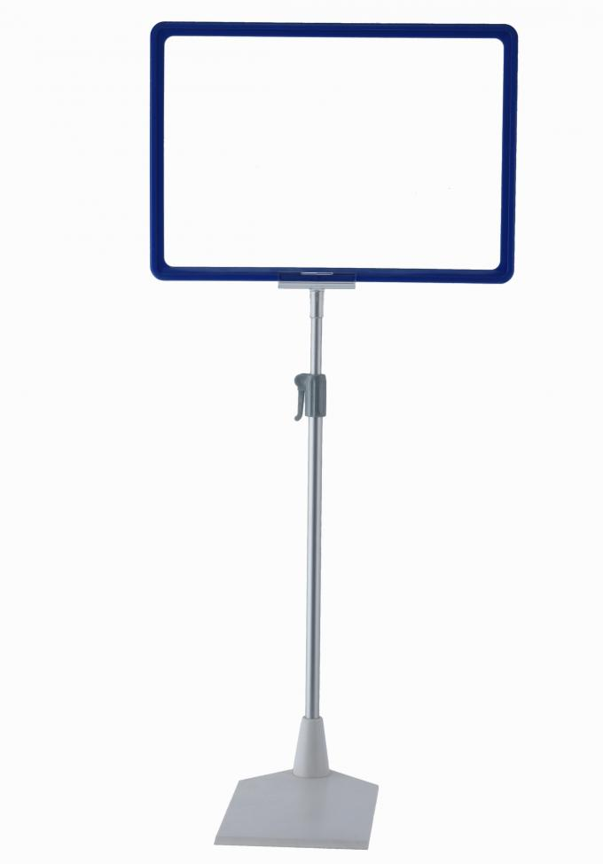 Sungard Exhibition Stand Price : Metal floor poster stands with a price display frame