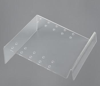 Computer Clear Acrylic Sign Holder For Supermarket / plastic sign holders