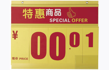 435x440mm Price Sign Board , retail price display holder
