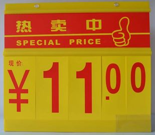 PVC Store Promotion Price Sign Board , Single Sided / Double Sided