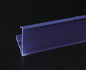 Promotional Plastic Recycling Shelf Data Strips , Magnet Sticked Accessory